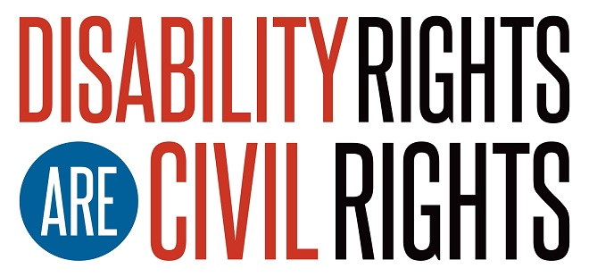 Disability rights are civil rights.